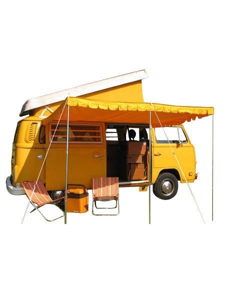 Sun Canopy Yellow Cotton