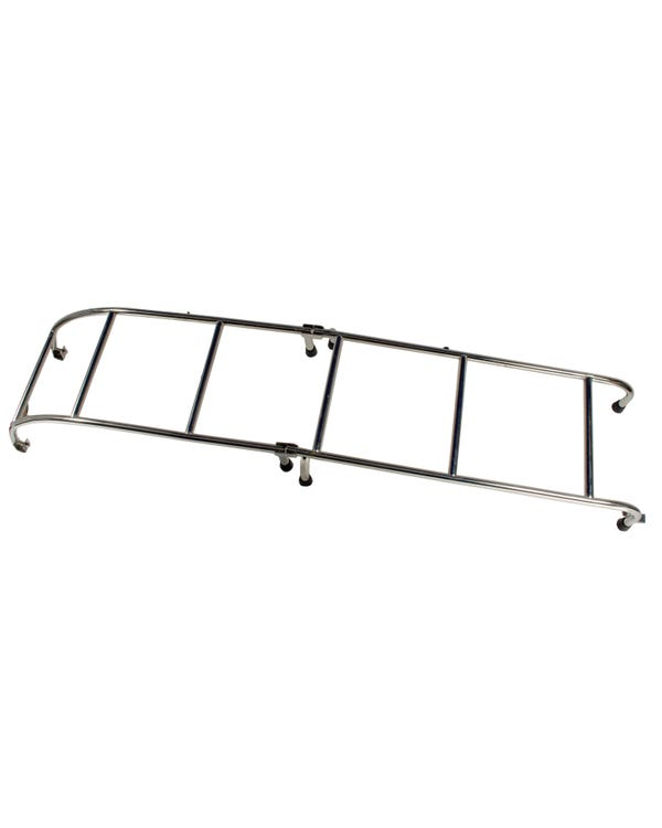 Roof Rack Ladder in Stainless Steel Rear Mounted