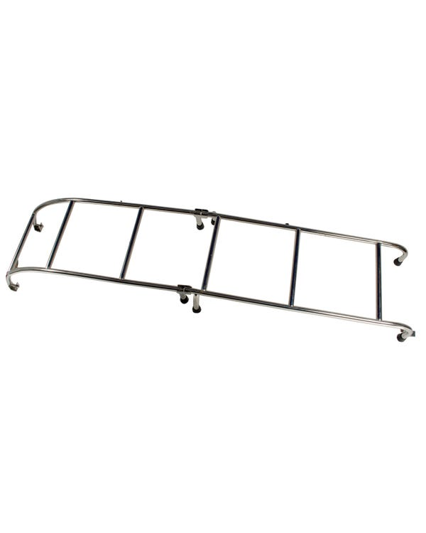 Stainless Steel Hinged Rear Mounted Ladder