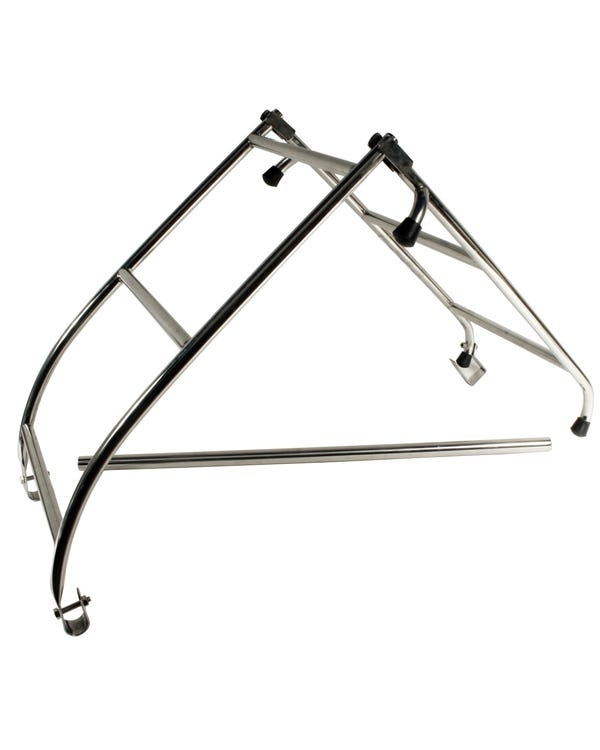 Roof Rack Ladder in Stainless Steel Side Mounted