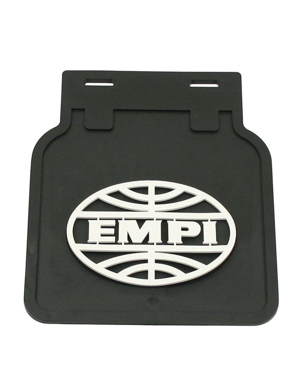 EMPI Mud Flap Set Black with White Logo