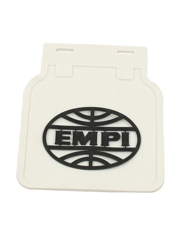 EMPI Mud Flap Set White with Black Logo
