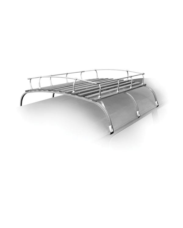 Roof Rack Silver Zinc Plated 3 Bow