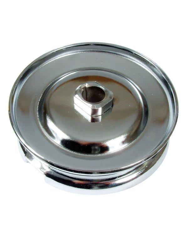 Riemenscheibe für Generator oder Dynamo, 1200-1600cc, 12 V,  Chrom