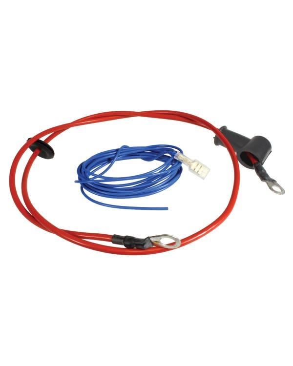 Kabelsatz zur Umrüstung der Lichtmaschine, 55amp