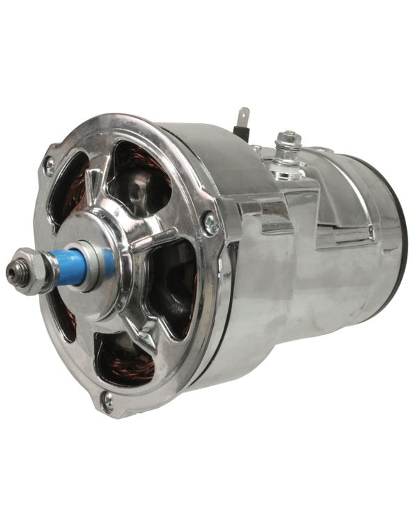 Alternator 70 Amp with Open Top Design Chrome
