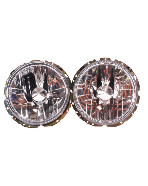 Headlights Crystal Clear for Right Hand Drive Pair