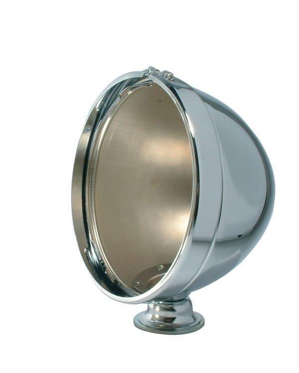 Buggy Headlight 7 Inch Chrome Housing