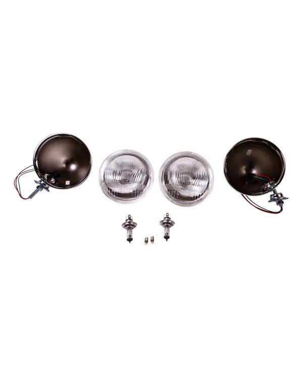 Buggy Headlight Kit for Left Hand Drive