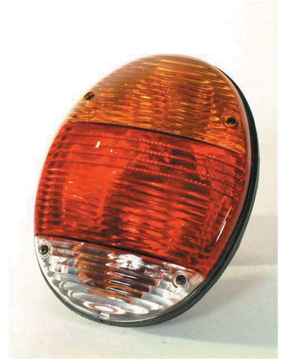 Rear Light Unit New Beetle Look with Amber and Red Lens
