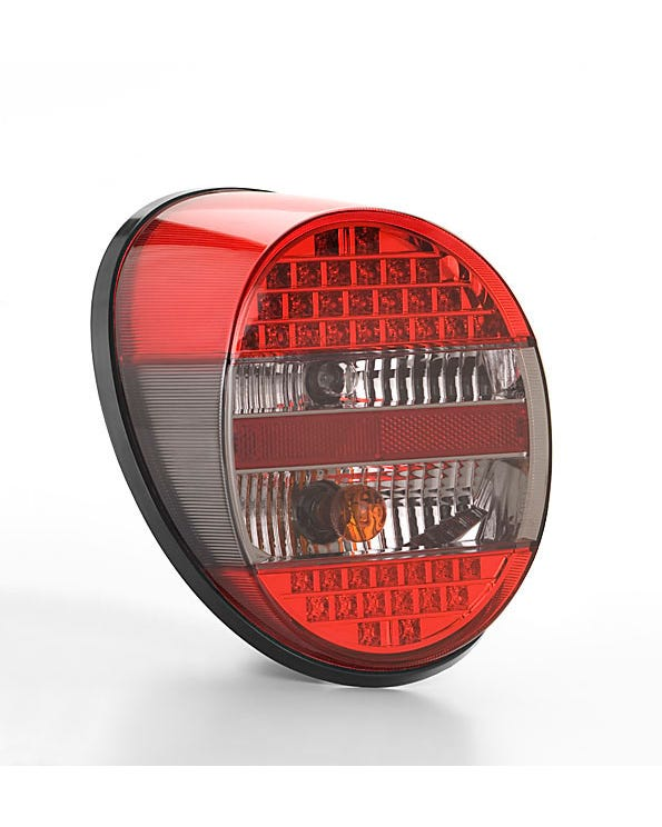 Complete Rear Light with LED Lights Red Smoked and Red Lens