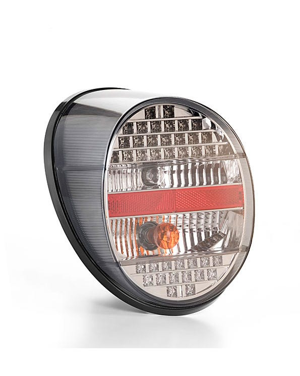 Complete Rear Light with LED Light sand a Clear and Smoked Lens