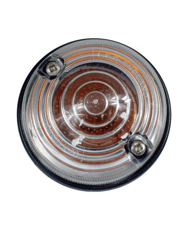 Indicator Assembly with Round Clear Lens 70mm Diameter Pair