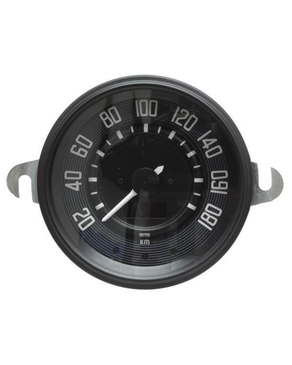 Smiths Digital Speedometer 180 KMH with Black Face