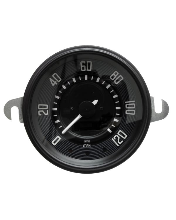 Smiths Digital Speedometer 120 MPH with Black Face