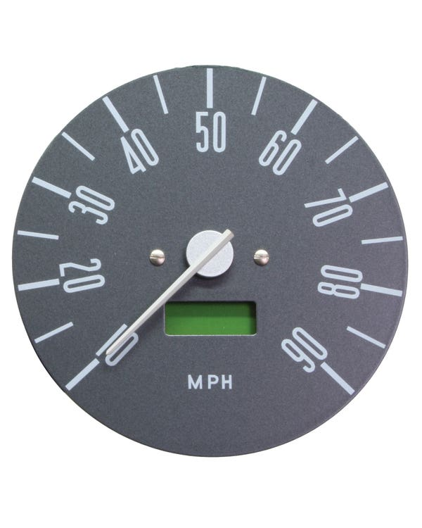 Smiths Digital Speedometer 90 MPH with Grey Face