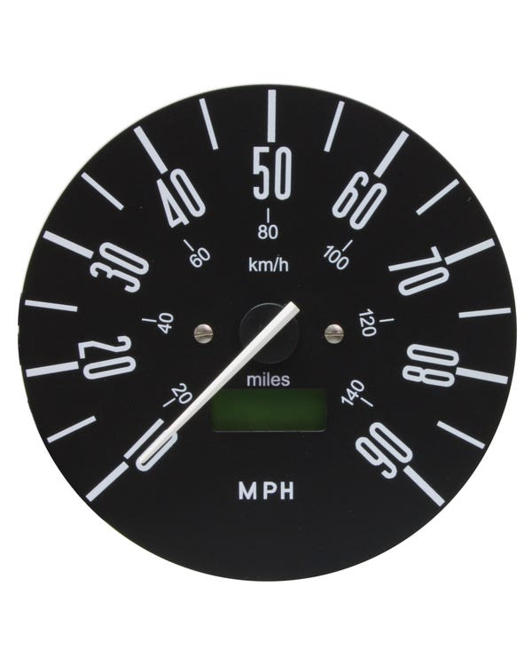 Smiths Digital Speedometer 90 MPH with Black Face