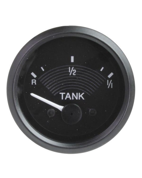 Tankanzeige, 12V, schwarz, 52mm