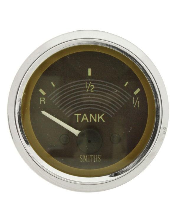Tankanzeige, Smiths Original, 12V, 52mm, braun
