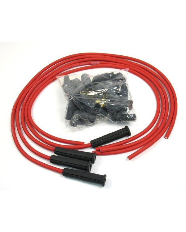 Pertronix Flamethrower Ignition Lead Set 1200-1600cc 8mm Red