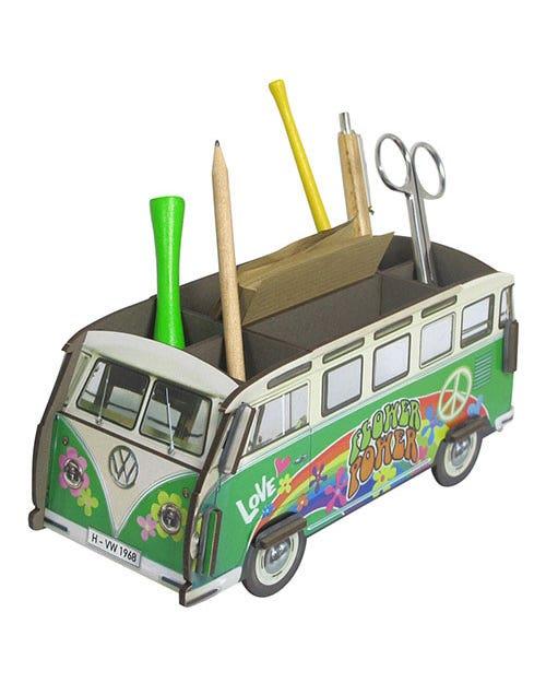 Desk Tidy Pencil Box Splitscreen Van Hippie Samba