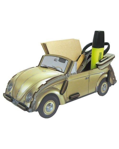 Desk Tidy Pencil Box Beetle Beige