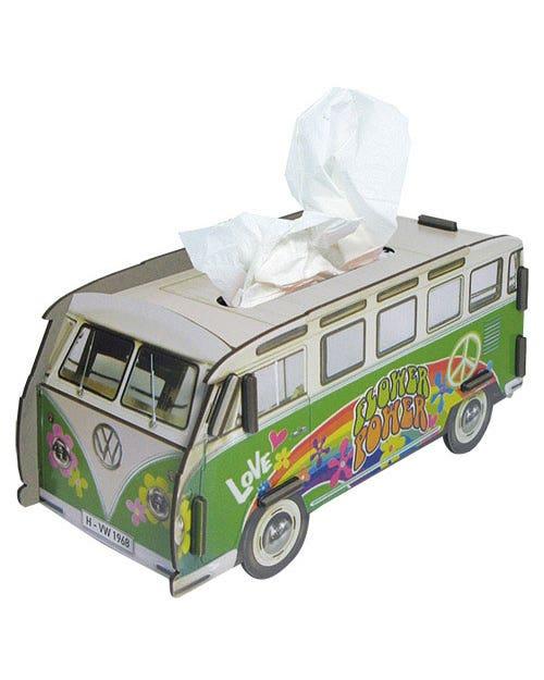 Desk Tidy Tissue Box Splitscreen Van Hippie Samba