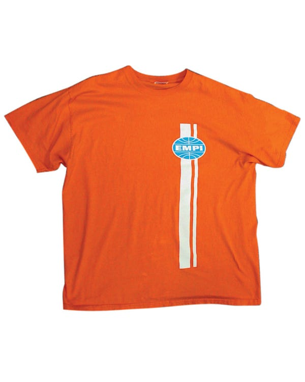 T Shirt Orange with EMPI Classic Logo Large