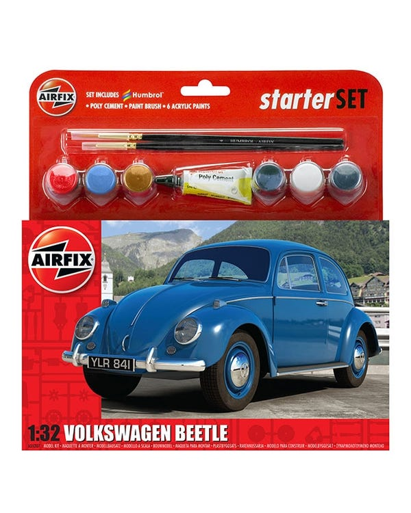 VW Beetle Airfix Starter Kit 1:32 Scale