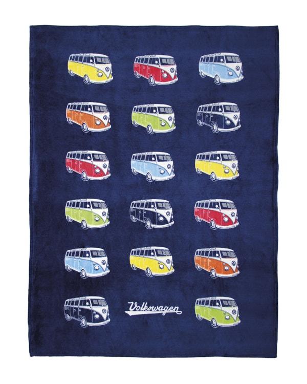VW Splitscreen Fleece Blanket