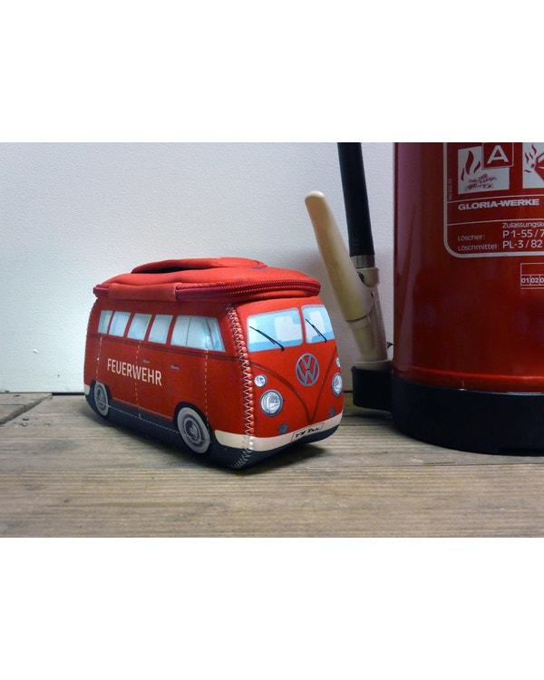 Neoprene Bag in the style of a Fire Engine Splitscreen