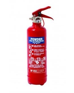 Extintor 600g ABC powder