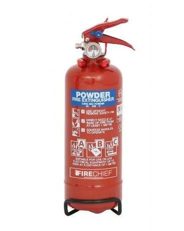 Firechief 800 g de extintor de polvo ABC