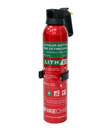 Firechief 400ml Lith-Ex Fire Extinguisher