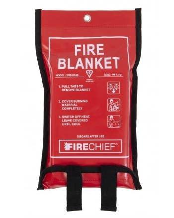 Firechief Fire Blanket, 1 Metre x 1 Meter