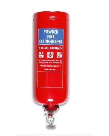 Firechief Automatic Slimline 2Kg Powder Fire Extinguisher