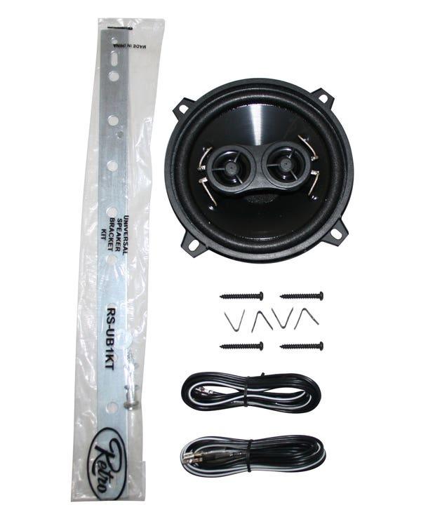 Retro Sound Dashboard Speaker 30 watt 5.25''