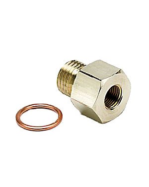 Autometer Metric Adaptor, 1/8''NPT to M14x1.5