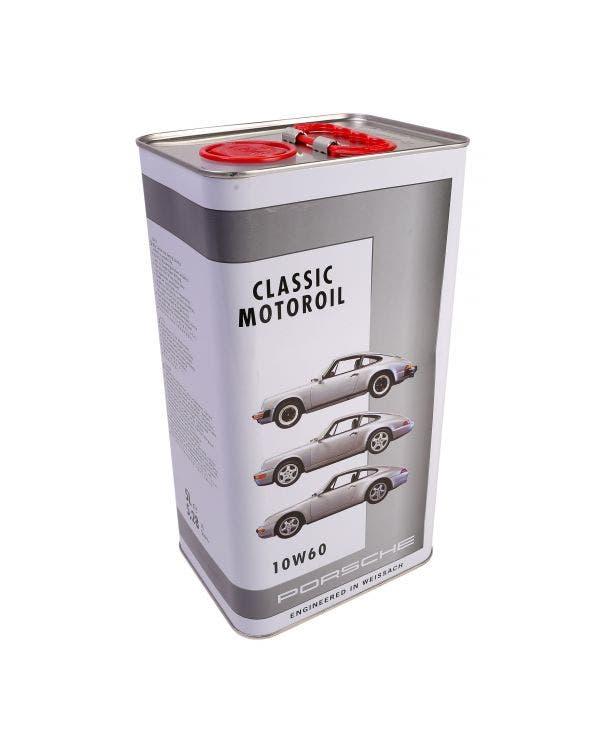 Porsche Classic Motoroil 10W-60 5 Litre