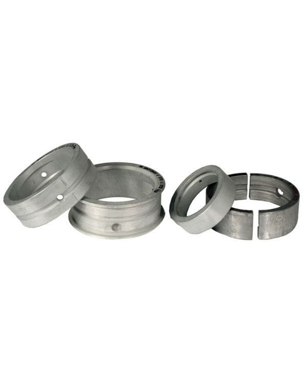 Main Bearing Set 1700-2000cc 0.75mm Undersize Crankshaft x 0.5mm Oversize Case x Standard Thrust