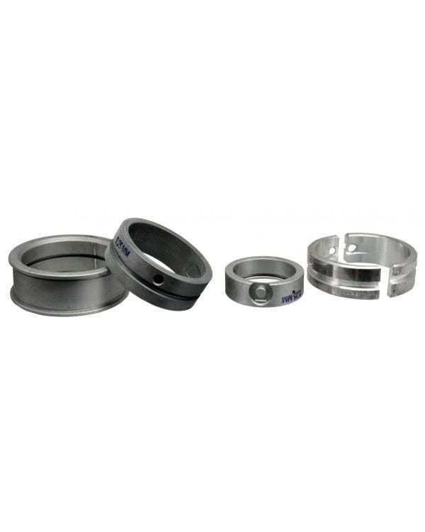 Main Bearing Set 1.9-2.1 Waterboxer, 0.25mm Undersize Crankshaft x Standard Case, 1 Piece Thrust