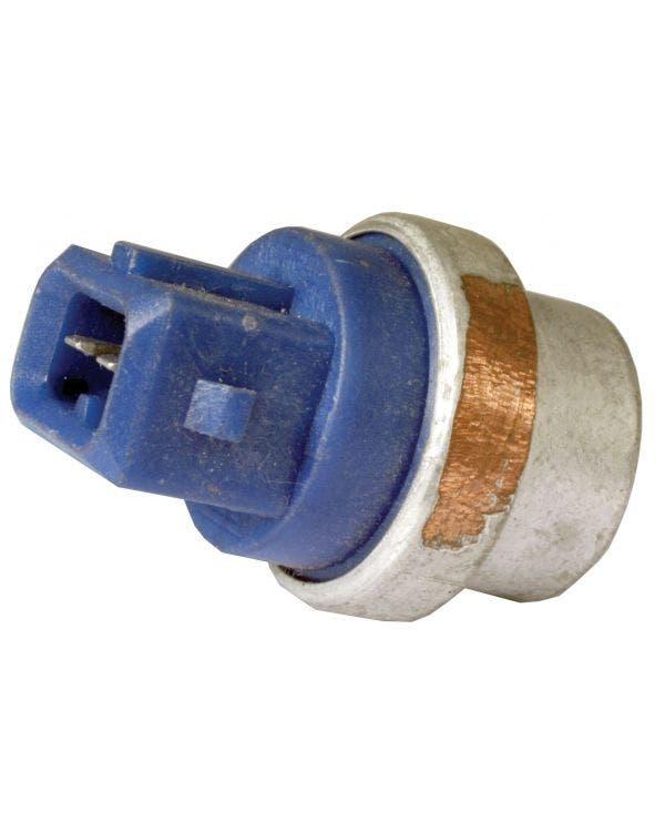 Temperaturfühler, 2-polig, Blau, 20 mm