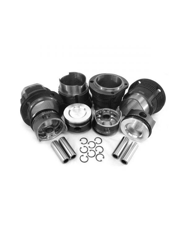 Barrel & piston kit, Type 4 2.0 litre, 94x71mm, Repro