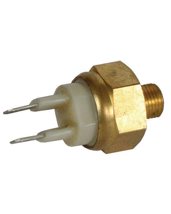 Coolant Temperature Sensor, 2 Pin White
