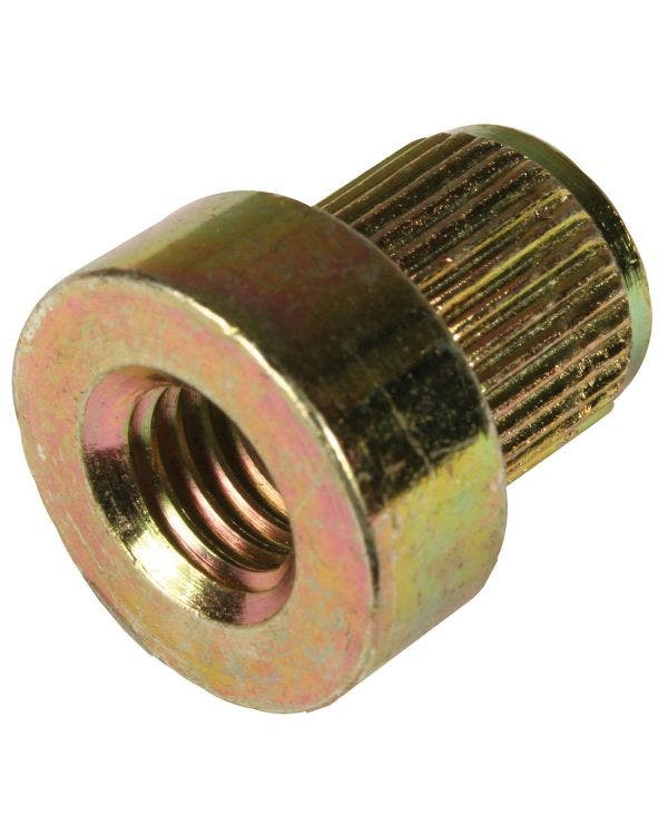 Captive Nut for Twin Port Crankcase