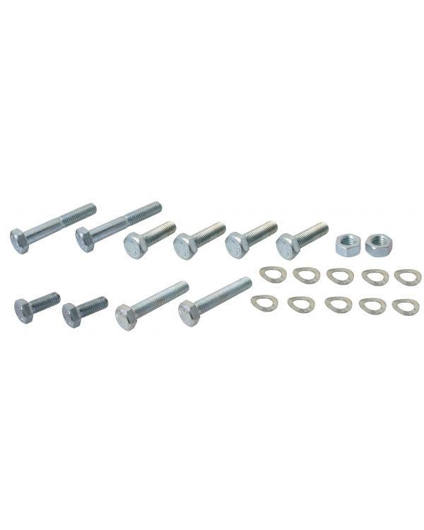 US Spec Front Bumper Fitting Kit Stainless Steel