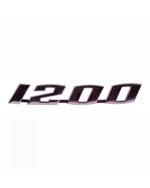 1200 Script Badge