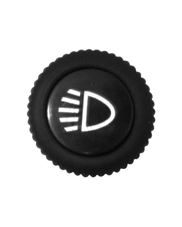 Headlight Switch Knob with Cap for Metal Dashboard