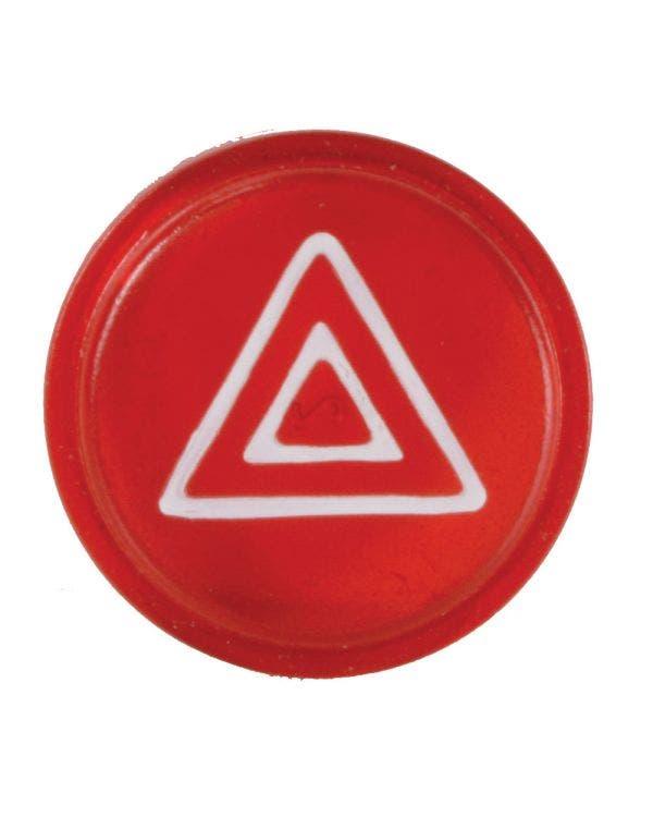 Kappe für Warnblinkerschalter-Knopf, rot