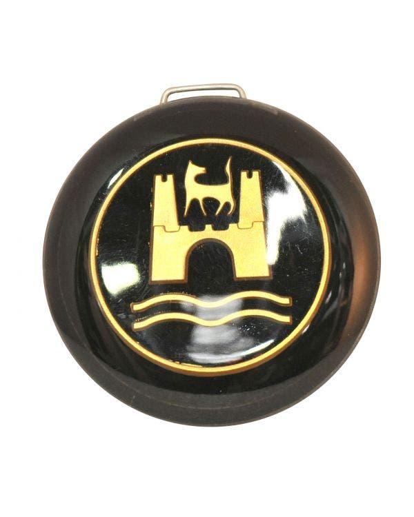Horn Press with Black & Gold Wolfsburg Crest